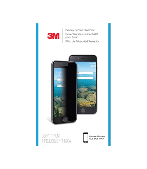 3M Privacyscreenprotector voor Apple iPhone 6/6S/7 staand