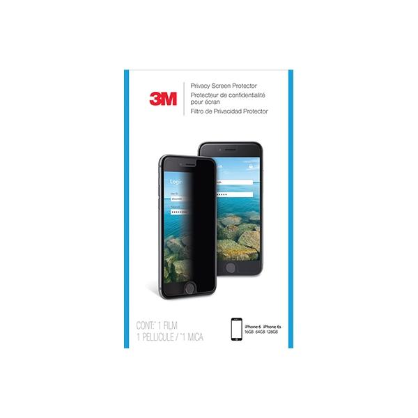 3M Privacyscreenprotector voor Apple iPhone 6/6S/7 staand