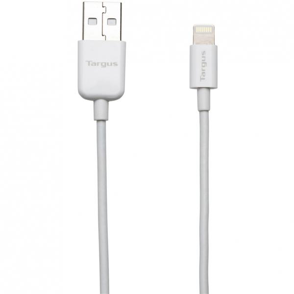 Targus ACC96101EU 1m USB A Lightning Wit USB-kabel