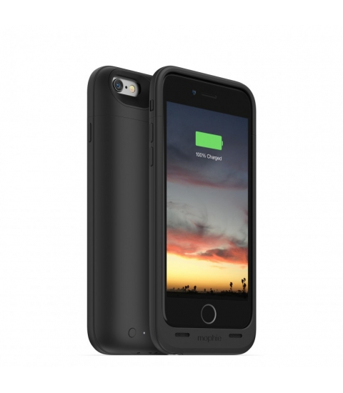 "Mophie juice pack air 4.7"" Hoes Zwart"