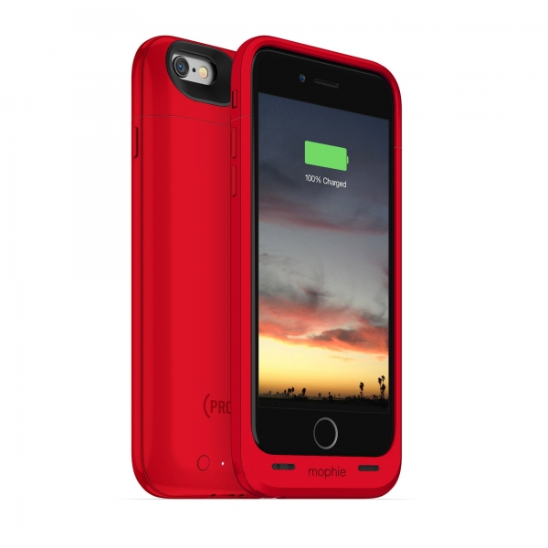 "Mophie juice pack air 4.7"" Hoes Rood"