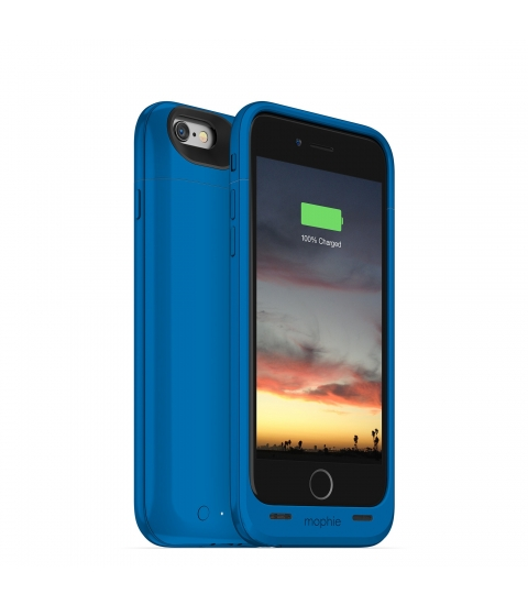"Mophie juice pack air 4.7"" Hoes Blauw"