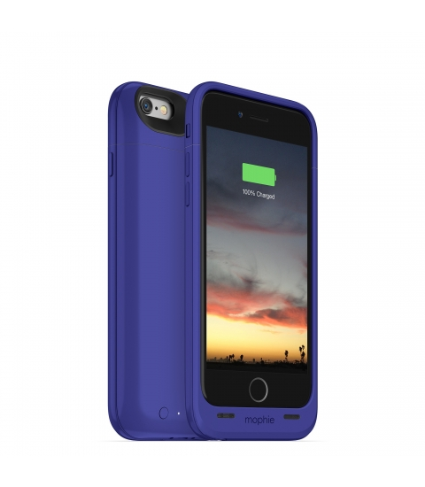 "Mophie juice pack air 4.7"" Hoes Paars"
