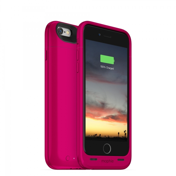 "Mophie juice pack air 4.7"" Hoes Roze"