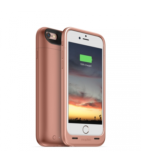 "Mophie juice pack air 4.7"" Hoes Roze goud"