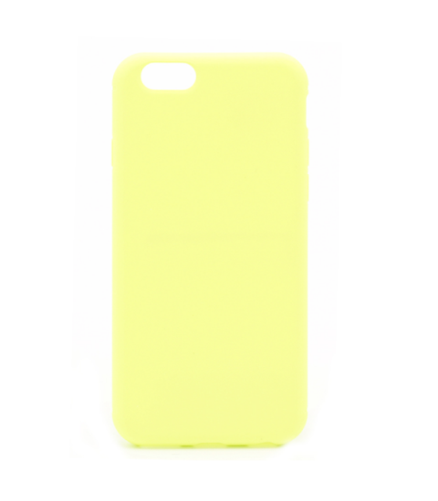 Silicon case flat iPhone 6/6s lime
