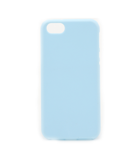 Silicon case flat iPhone 5/5s blauw