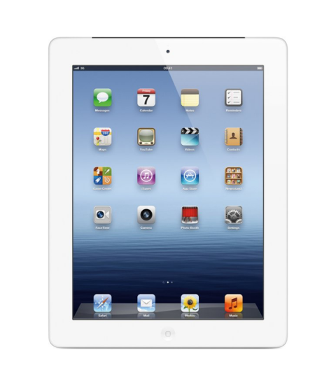 iPad 4 WiFi Zilver 16GB
