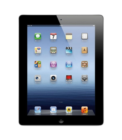 iPad 4 WiFi Zwart 16GB