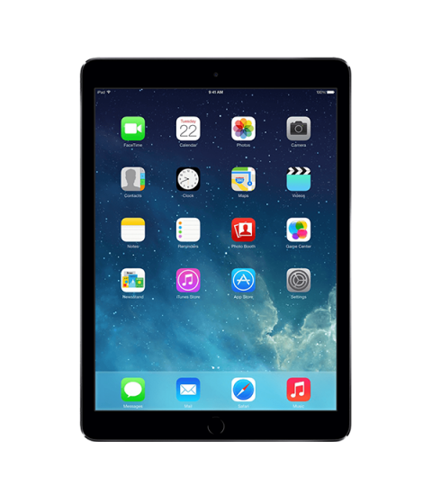 iPad Air 1 Zwart 16GB Wifi only