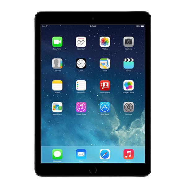 iPad Air 1 Zwart 64GB Wifi en 4G