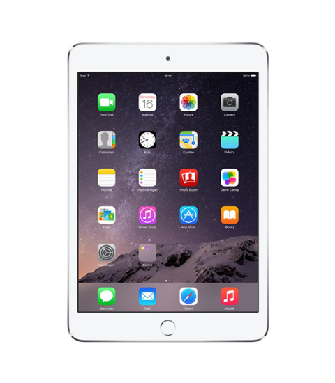 iPad Mini 2 WiFi Zilver 16GB