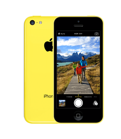 iPhone 5C Geel 16GB
