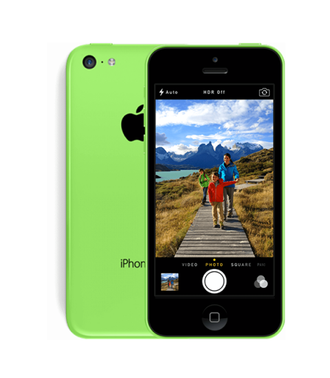 iPhone 5C Groen 32GB