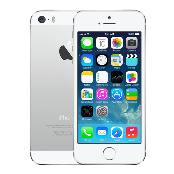 iPhone 5S Zilver 64GB