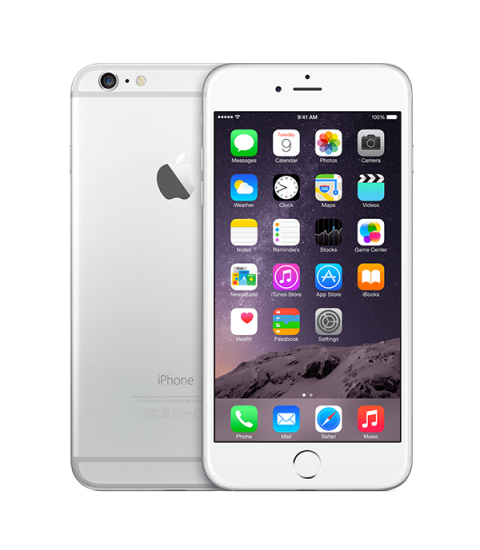 iPhone 6 Plus Zilver 64GB