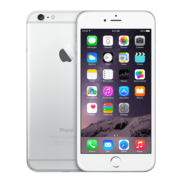 iPhone 6 Plus Zilver 128GB