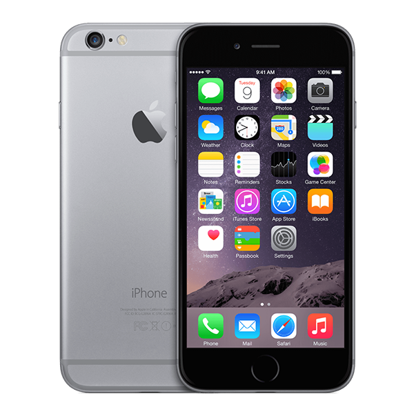 iPhone 6 Zwart 64GB