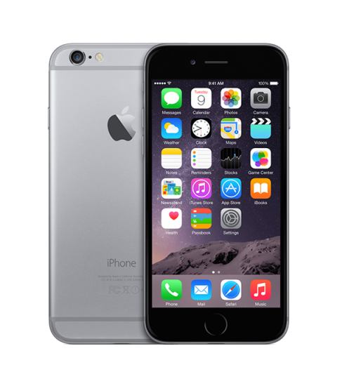 iPhone 6 Zwart 128GB