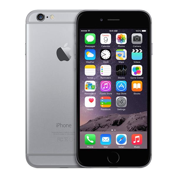 iPhone 6 Zwart 128GB