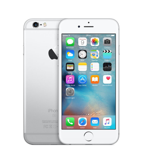 iPhone 6s Zilver 128GB