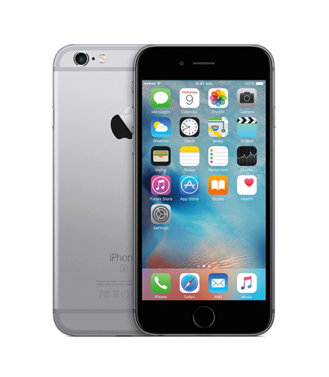 iPhone 6s Zwart 128GB