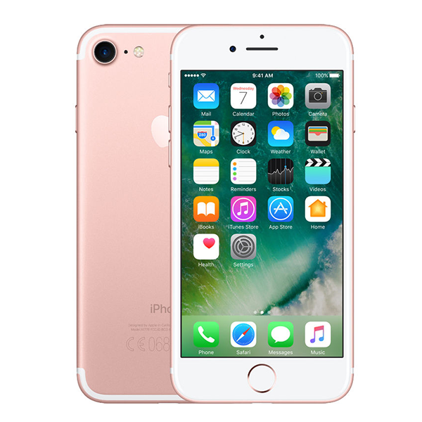 iPhone 7 Roségoud 128GB